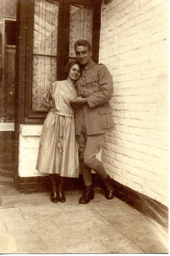 Fiancailles Papou et petite mamy 1922